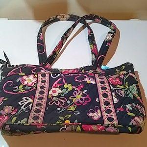 VERA BRADLEY Floral Design Bag Purse